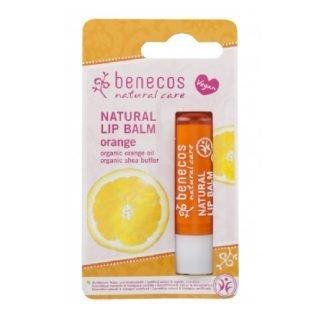 Benecos Natural Appelsiini Huulivoide Blistered Orange 4,8g