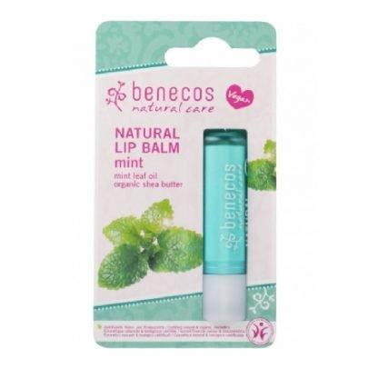 Benecos Natural Minttu Huulivoide Blistered Mint 4,8g