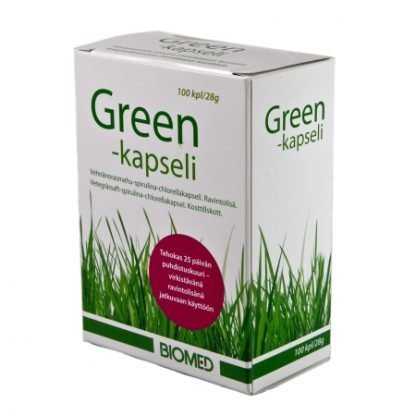 Biomed Green Kapselit 100kaps