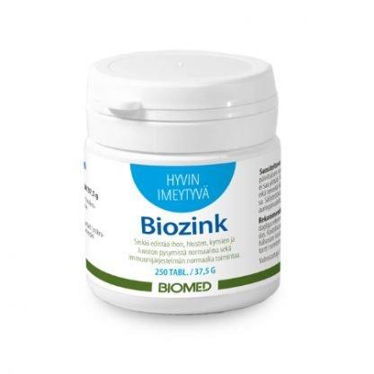 Biomed Biozink 250 tbl
