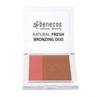 Benecos Natural Aurinkopuuteri Bronzing Duo California nights 8g