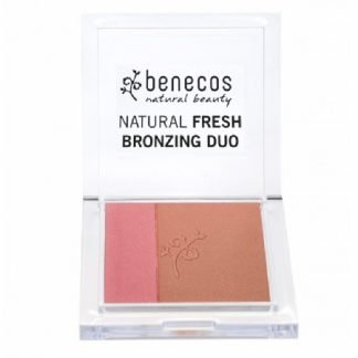 Benecos Natural Aurinkopuuteri Bronzing Duo Ibiza nights 8 g