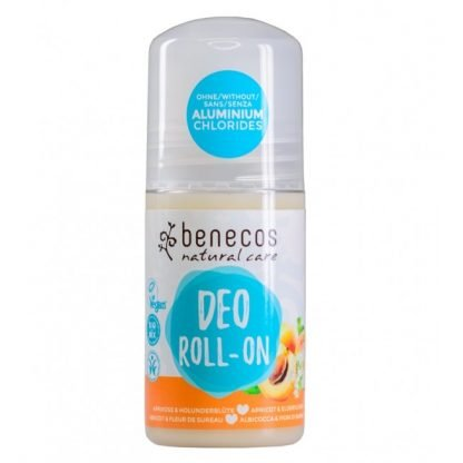 Benecos Natural Deo-Roll-On Apricot & Elderflower 50ml