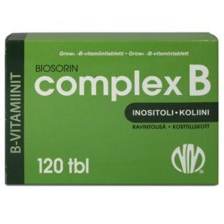 Biosorin Complex B 120 tbl
