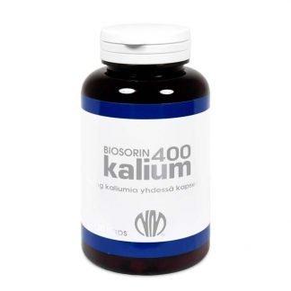 Biosorin Kalium 400 mg 120 kaps