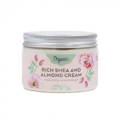 NURME Rich Shea and Almond Cream 150ml Vartalovoide