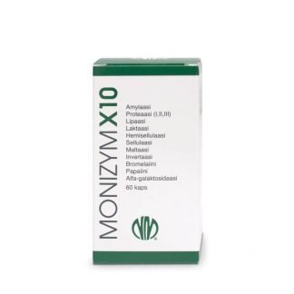 Natura Media Monizym X10 Enzymes 60 kaps