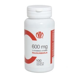 Ruusunmarja C-vitamiini 600 mg 100 kaps