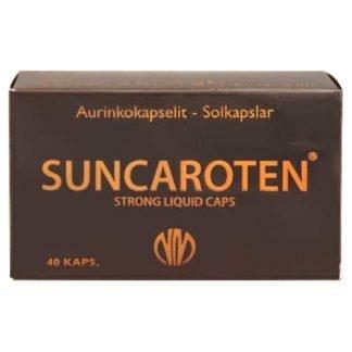 Suncaroten Aurinkokapselit 40 kaps
