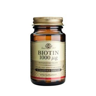 Solgar Biotiini 1000μg 50 kaps