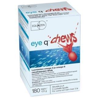 EyeQ chews Mansikka Purukapseli