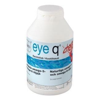 EyeQ chews Mansikka Purukapseli 360 kaps