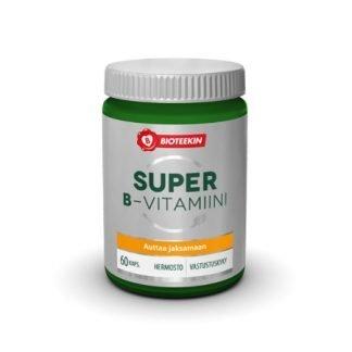 Bioteekin Super B-Vitamiini 60 kaps