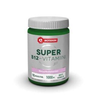 Bioteekin Super B12-Vitamiini 90 tbl