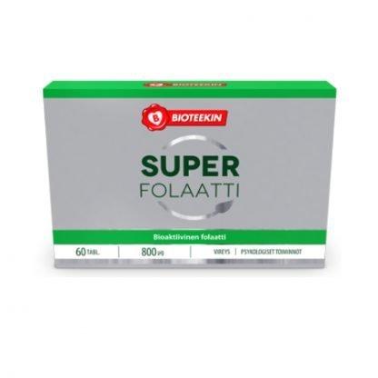 Bioteekin Super Folaatti 60 tbl