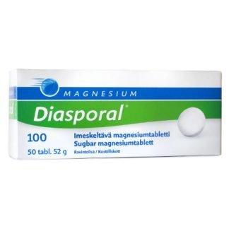 Diasporal Magnesium 100 imeskelytabletti 50kpl