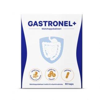 Gastronel+ maitohappobakteerikapseli 60 kaps