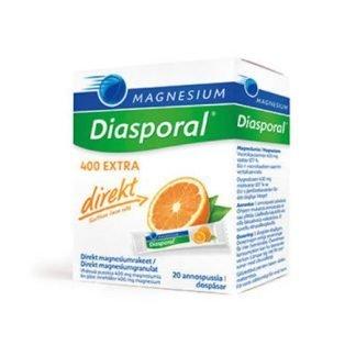 Diasporal Magnesium 400 EXTRA juomajauhe 20 annospussia