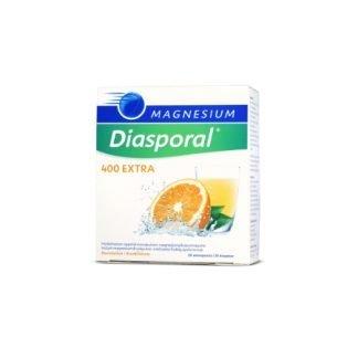 Diasporal Magnesium 400 EXTRA Direkt 20 pussia