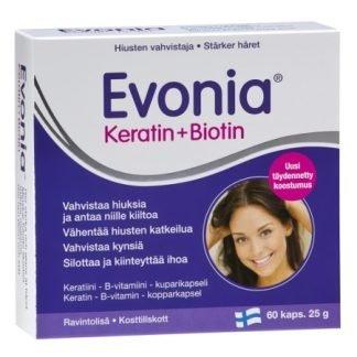 Evonia Keratin + Biotin 60 kaps