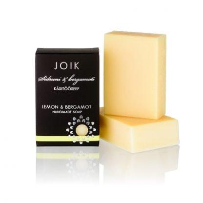 JOIK Saippua Lemon & Bergamot 100g