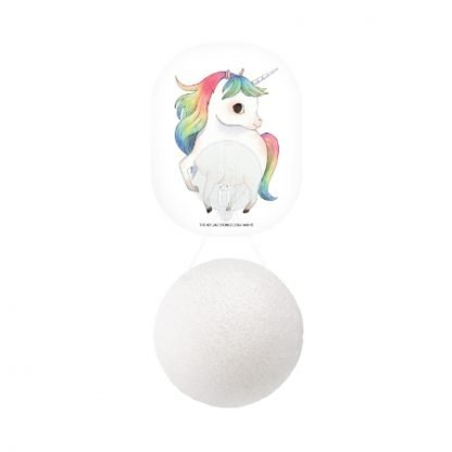 Konjac Sponge Mythical Unicorn Pure White Pesusieni kuva 4