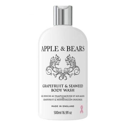 Apple & Bears Grapefruit & Sea Weed Body Wash Vartalonpesuaine 500ml