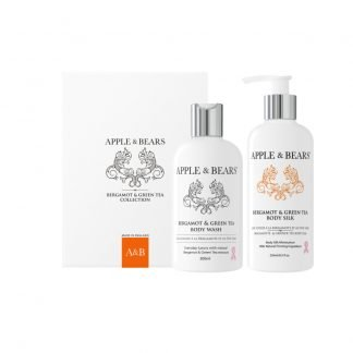 Apple & Bears Bergamot & Green Tea Luxury Body Care Lahjasetti