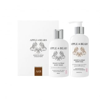 Apple & Bears Honey & Hemp Luxury Body Care Lahjasetti