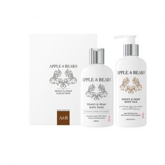 Apple & Bears Honey & Hemp Luxury Body Care Lahjasetti