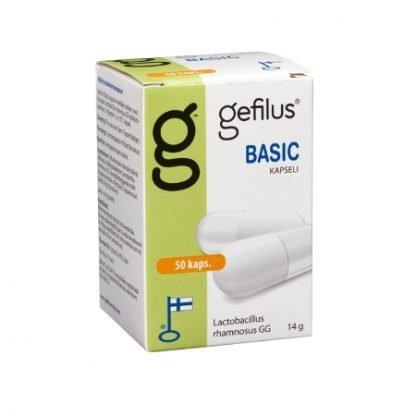 Gefilus Basic Maitohappobakteeri 50 kaps
