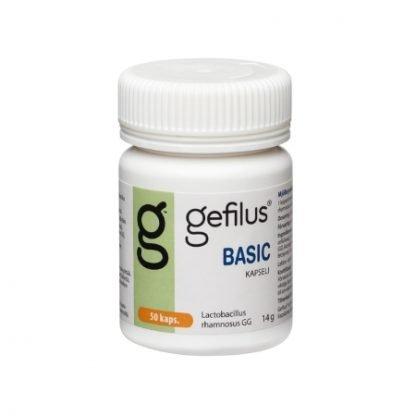 Gefilus Basic Maitohappobakteeri 50 kaps kuva 2