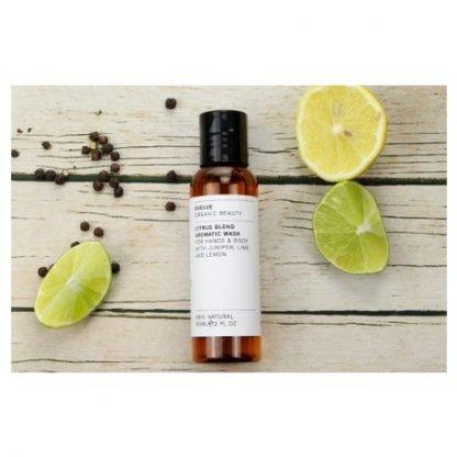 Evolve Citrus Blend Aromatic Vartalonpesuaine 60ml Matkakoko kuva 2