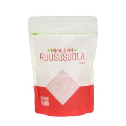 Organic Health Himalaja Hieno Ruususuola 500g
