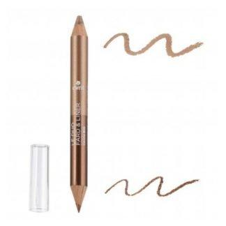 Avril Organic 2in1 Silmämeikkikynä Luomiväri & Eyeliner Duo 2g Beige/Bronze