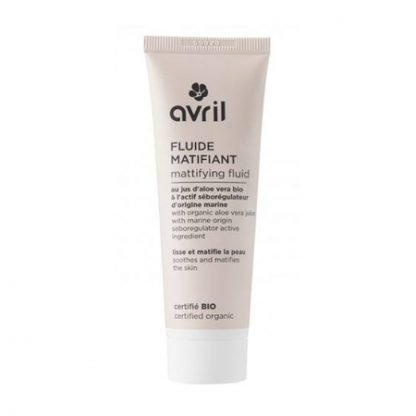 Avril Organic Mattifying Fluid Kasvoemulsio 50ml