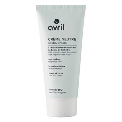 Avril Organic Neutral Cream Herkälle iholle 200ml