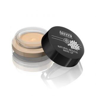 Lavera Natural Mousse Make-up Vaahtomeikkivoide 15g Ivory 01