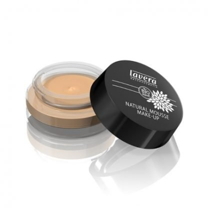 Lavera Natural Mousse Make-up Vaahtomeikkivoide 15g Honey 03