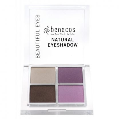 Benecos Natural Quattro Luomiväripaletti Beautiful Eyes 7,2g