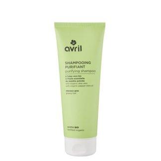 Avril Organic Shampoo Rasvoittuville Hiuksille 250ml 3662217006687