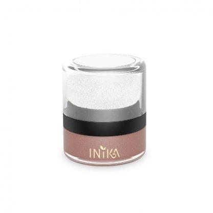 INIKA Mineral Blush Puff Pot Poskipuuteri Rozy Glow 3g