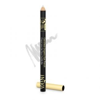 INIKA Organic Eyeliner Silmienrajauskynä White Crystal 1,2g