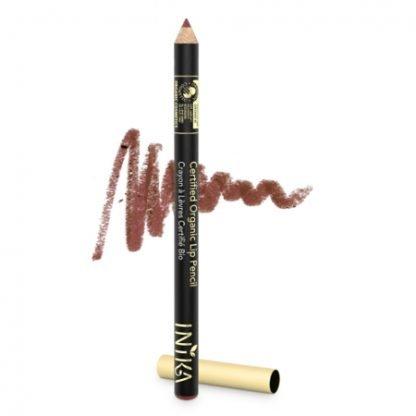 INIKA Organic Lip liner Pencil Huultenrajauskynä Sugar Plum 1,2g