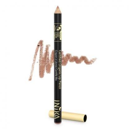 INIKA Organic Lip liner Pencil Huultenrajauskynä Nude Delight 1,2g