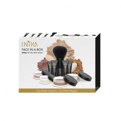 INIKA Organic Face in a Box Starter Kit Aloituspakkaus Unity kuva 3