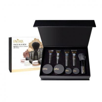 INIKA Organic Face in a Box Starter Kit Aloituspakkaus Nurture kuva 2