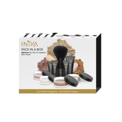 INIKA Organic Face in a Box Starter Kit Aloituspakkaus Nurture kuva 3