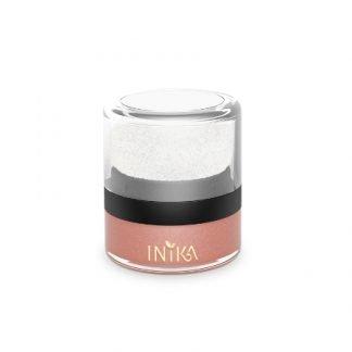 INIKA Mineral Blush Puff Pot Poskipuuteri Pink Petal 3g
