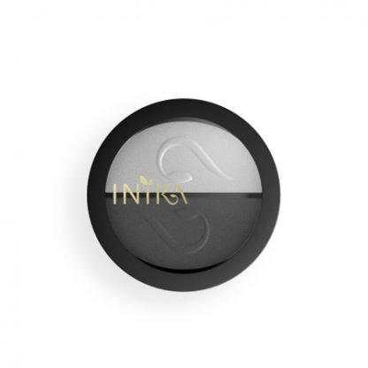 INIKA Organic Eyeshadow Duo Luomiväripaletti Platinum Steel 3,9g